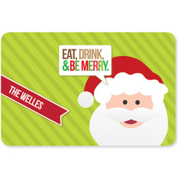 Eat, Drink & Be Merry Holiday Placemat