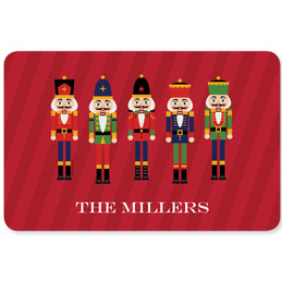 The Traditional Nutcracker Holiday Placemat