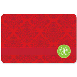 Simply Damask Holiday Placemat