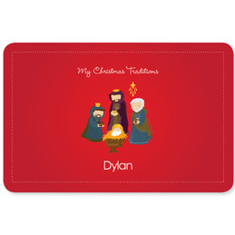 The Three Kings Tradition Holiday Placemat