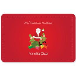 La Tradicion de Santa Holiday Placemat