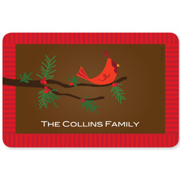 Christmas Branches Holiday Placemat