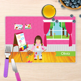 Artist at Work Kids Placemat