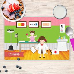 Doctor's Visit Kids Placemat