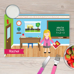 Learning Time Kids Placemat