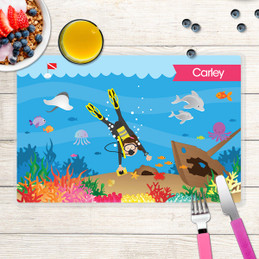 Under the Sea Kids Placemat