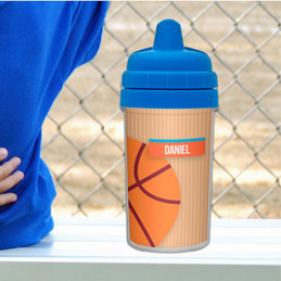 Basketball Sippy Cup for 6 Month Old