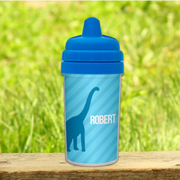 Dino and Me Blue Sippy Cup For 1 Year Old