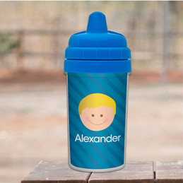 Just Like Me Boy-Blue Sippy Cup