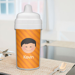 Just Like Me Personalized Baby Sippy Cups
