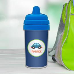Cute Little Car Sippy Cup