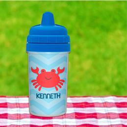 Happy Crab Sippy Cup
