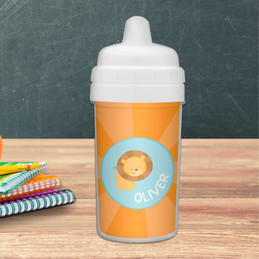 Cute Baby Lion Sippy Cup