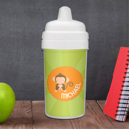 Cute Baby Monkey Sippy Cup