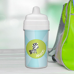 Cute Baby Zebra Sippy Cup