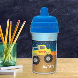 Monster Truck Sippy Cup