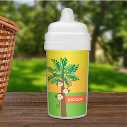 Monkeys in the Jungle Sippy Cup