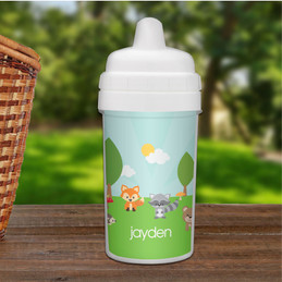 Cute Animals in the Forest Sippy Cup