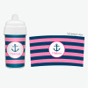 Let's Sail Pink Toddler Sippy Cups