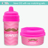Little Miss Mustache Custom Baby Sippy Cup