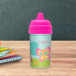 Best Sippy Cup for Milk with Cute Butterfly