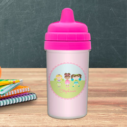 Girl Sippy Cups for Cheerleaders