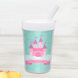 A Castle in the Sky Personalized Kids Cups