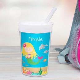 Sweet Mermaid Toddler Cup
