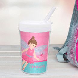 Fairy Girl Personalized Kids Cups