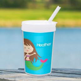 Cute Mermaid Toddler Cup