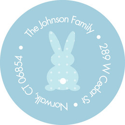Cute Address Labels Cute Bunny