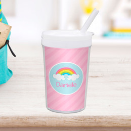 A Rainbow in the Sky Custom Kids Cups