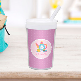 Tea Time Personalized Kids Cups