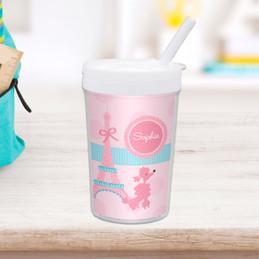 Ohh La La Paris Personalized Kids Cups