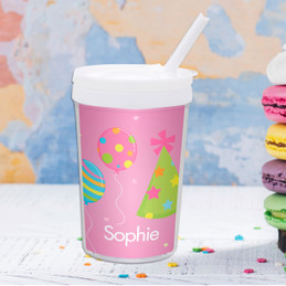 Sweet Bday Girl Personalized Kids Cups