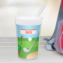 My Love For Golf Toddler Cup