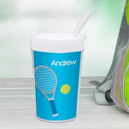 Tennis Fan (Boy) Toddler Cup