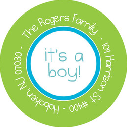 Kid Address Labels - My Baby Face