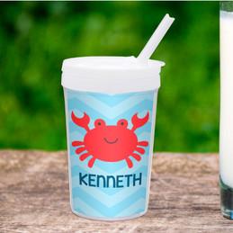 Happy Crab Toddler Cup
