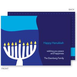 Hanukkah Mosaic Card