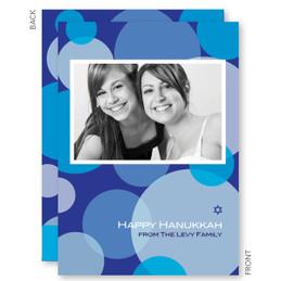 Joyful Circles Hanukkah Card