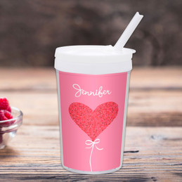 Sweet Heart Personalized Toddler Cup