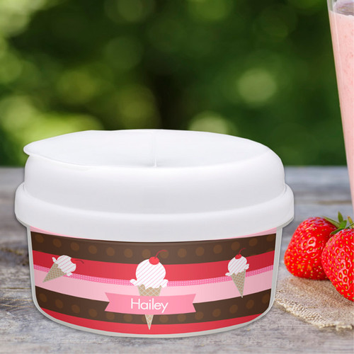 Strawberry Cone Snack Bowls Gifts