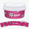 Soccer Fan Purple Snackbowls For Toddlers