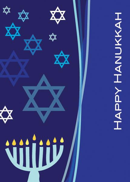 Hanukkah Cards | A Dance Of Stars