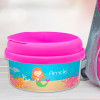 Sweet Mermaid Red Haired Customized Snack Bowl