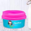Cute Black Hair Mermaid Custom Snack Bowl