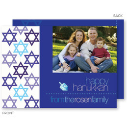 Filled With Stars Hanukkah Card