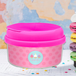 Sweet Cupcakes Snack Bowls With Lids
