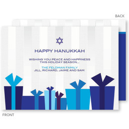 A Collection Of Gifts Hanukkah Cards
